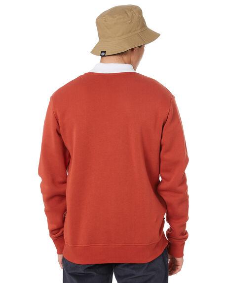 RUST MENS CLOTHING DICKIES JUMPERS - K3200302RST