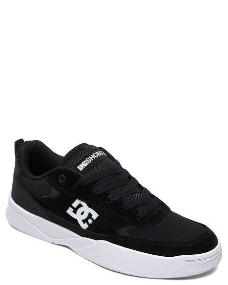 BLACK/WHITE MENS FOOTWEAR DC SHOES SNEAKERS - ADYS100509-BKW