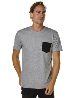 GREY MENS CLOTHING AS COLOUR TEES - 5010GRY