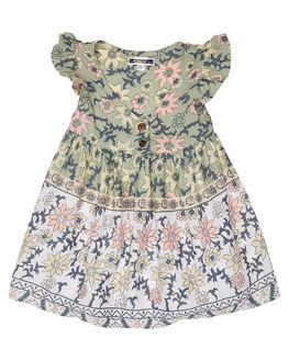 AMELIA GREY KIDS GIRLS SWEET CHILD OF MINE DRESSES + PLAYSUITS - W19BABYDOLLDRSSAMGRY