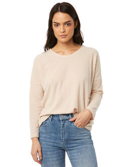 OATMEAL WOMENS CLOTHING ALL ABOUT EVE TEES - 6413058CRM