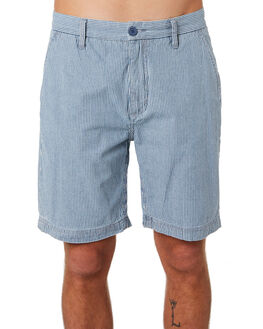 NAVY STRIPE MENS CLOTHING BARNEY COOLS SHORTS - 619-CC3NVYST