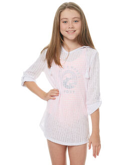 WHITE KIDS GIRLS BILLABONG DRESSES - 5571151WHT