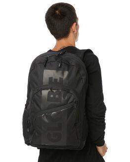 BLACK MENS ACCESSORIES GLOBE BAGS + BACKPACKS - GB71619016BLK