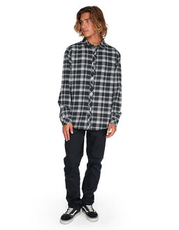 BLACK HEATHE MENS CLOTHING BILLABONG SHIRTS - BB-9595208-BLH