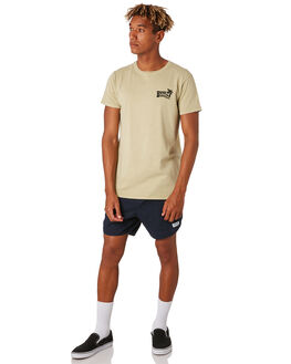 LEMON GRASS MENS CLOTHING BANKS TEES - WTS0421LMG