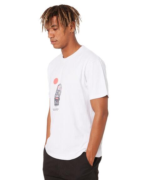 WHITE MENS CLOTHING THE CRITICAL SLIDE SOCIETY TEES - TE2021WHT