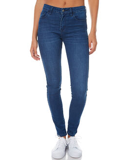 VISION BLUE WOMENS CLOTHING LEE JEANS - L-656134-BM5VISI