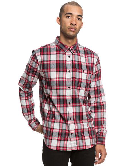 TANGO RED MENS CLOTHING DC SHOES SHIRTS - EDYWT03208RRH0