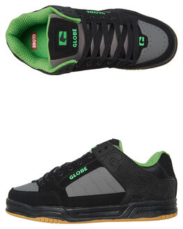 BLACK CHARCOAL MENS FOOTWEAR GLOBE SNEAKERS - GBTILT-20372