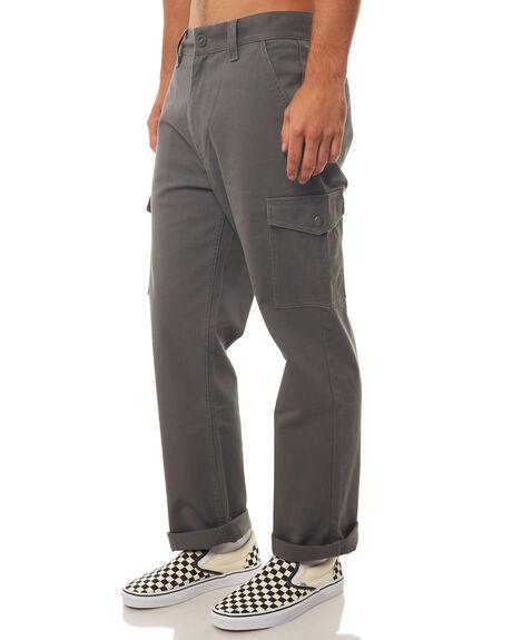 CHARCOAL MENS CLOTHING BRIXTON PANTS - 04082CHARC