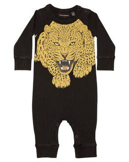 BLACK WASH KIDS BABY ROCK YOUR BABY CLOTHING - BBB1816-HUBLKW