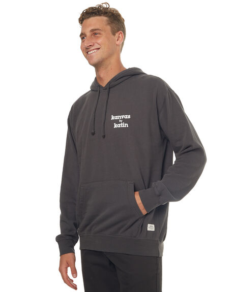 BLACK MENS CLOTHING KATIN JUMPERS - FLSSKMAHD17BLK