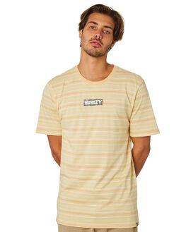 LIGHT BROWN MENS CLOTHING HURLEY TEES - AJW0006111