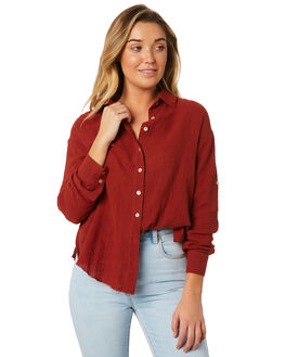 BURRED WOMENS CLOTHING SOMEDAYS LOVIN FASHION TOPS - IL18F1418BURR
