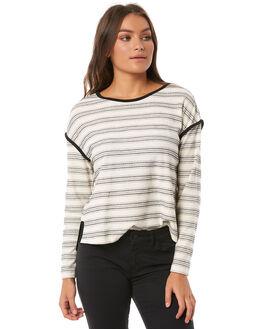 ANTRHACITE SOUL STR WOMENS CLOTHING ROXY TEES - ERJKT03433KVJ5