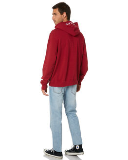 BURGUNDY MENS CLOTHING ROLLAS JUMPERS - 15919170