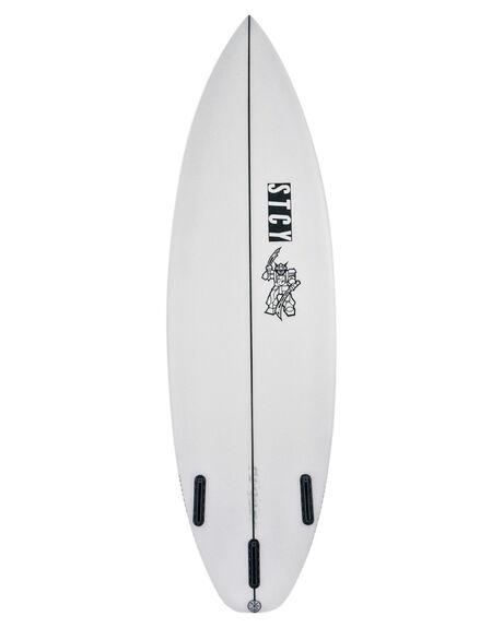 CLEAR BOARDSPORTS SURF STCY MFG SURFBOARDS - BLKRPCLR