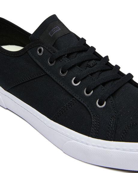 BLACK WHITE MENS FOOTWEAR GLOBE SNEAKERS - GBSURP-10046
