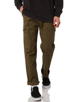 OLIVE MENS CLOTHING BRIXTON PANTS - 04082OLIVE