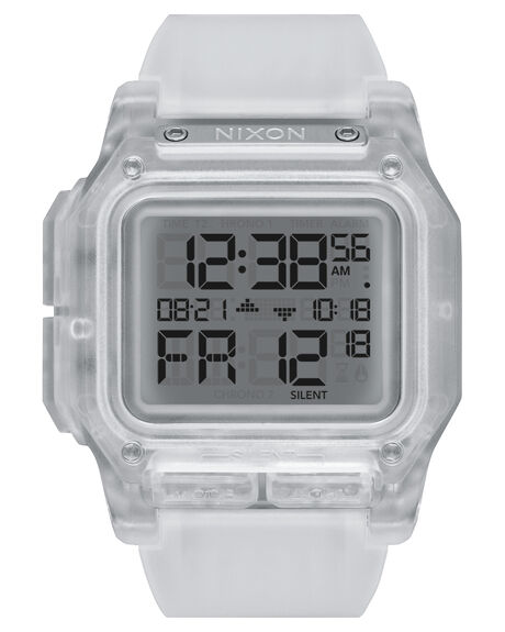 CLEAR MENS ACCESSORIES NIXON WATCHES - A1180-961