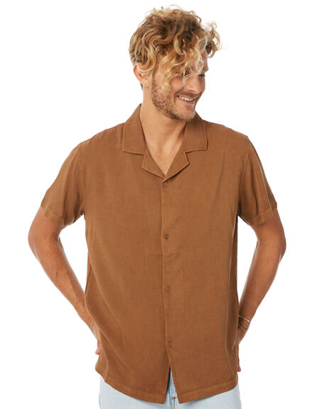 BROWN MENS CLOTHING INSIGHT SHIRTS - 5000001856BRN