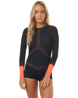 BLACK/RED SURF WETSUITS RIP CURL SPRINGSUITS - WSP7OW4019