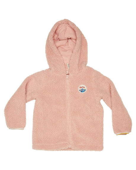 DUSK PINK KIDS GIRLS RIP CURL JUMPERS + JACKETS - FFEAX19712