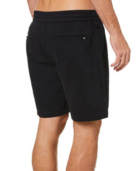 BLACK MENS CLOTHING HURLEY SHORTS - MWS0006610H010