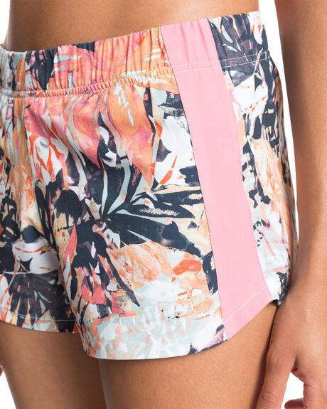 MOOD INDIGO TROUBLE WOMENS CLOTHING ROXY SHORTS - ERJNS03330-BSP9