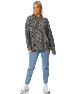 BLACK WOMENS CLOTHING RUSTY JUMPERS - MWL0217BLK