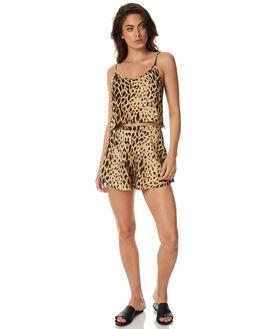 PRINT WOMENS CLOTHING ZULU AND ZEPHYR SHORTS - ZZ1518PRI