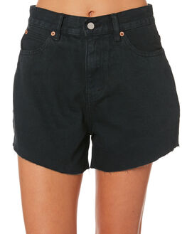 VINTAGE BLACK WOMENS CLOTHING NUDE LUCY SHORTS - NU23352VTBLK