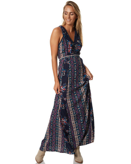 PATCHWORK WOMENS CLOTHING TIGERLILY DRESSES - T373407PATCH