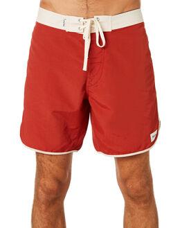 CLASSIC RED MENS CLOTHING RHYTHM BOARDSHORTS - NOV18M-SS07-RED