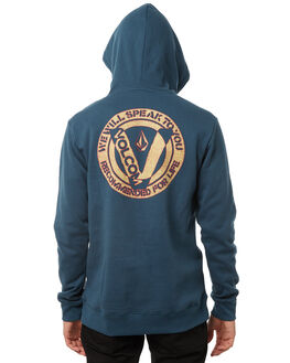NAVY GREEN MENS CLOTHING VOLCOM JUMPERS - A4131804NVG