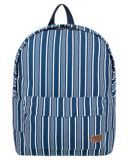DRESS BLUES STRIPES WOMENS ACCESSORIES ROXY BAGS + BACKPACKS - ERJBP03742BTK3