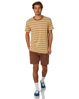 BROWN MENS CLOTHING RHYTHM SHORTS - JAN19M-JM01-BRO