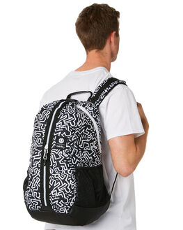 BLACK MENS ACCESSORIES ELEMENT BAGS + BACKPACKS - 183487ABLK