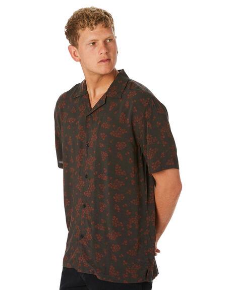 BLACK MENS CLOTHING SWELL SHIRTS - S5202174BLACK
