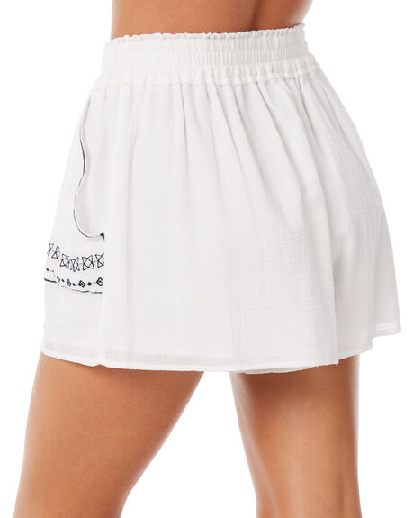 WHITE OUTLET WOMENS ELWOOD SHORTS - W83621WHT