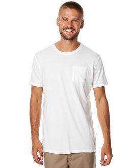 VINTAGE WHITE MENS CLOTHING KATIN TEES - KNBASF16VWHT