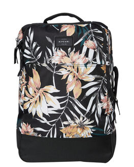 BLACK WOMENS ACCESSORIES RIP CURL BAGS + BACKPACKS - LTRIK10090