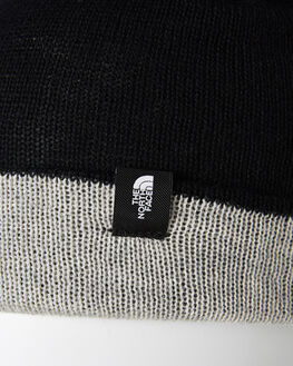 TNF BLACK GREY MENS ACCESSORIES THE NORTH FACE HEADWEAR - NF0A3FJNGAM