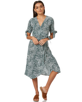 TEAL HEART WOMENS CLOTHING RUE STIIC DRESSES - SW18-33THTEALH