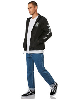 BLACK MENS CLOTHING SALTY CREW JACKETS - 20935043BLK