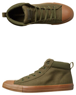 HERBAL DARK HONEY MENS FOOTWEAR CONVERSE SNEAKERS - 155709HERB