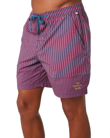 NAVY MENS CLOTHING THE CRITICAL SLIDE SOCIETY BOARDSHORTS - BS1885NVY