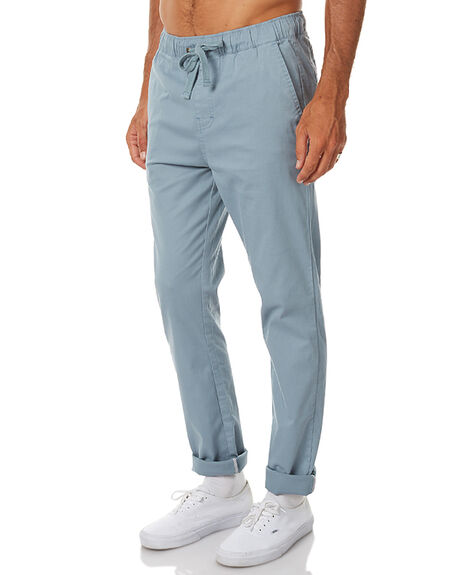 OVERCAST BLUE MENS CLOTHING KATIN PANTS - LBSTAUO16OVCST