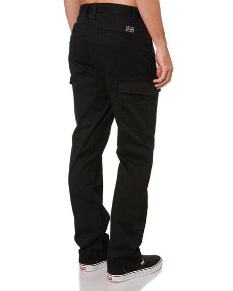 BLACK MENS CLOTHING VOLCOM PANTS - A1102000BLK